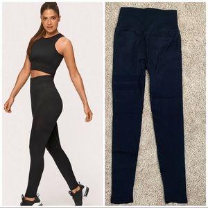 Stronger Embrace Yoga blue High Waist Leggings